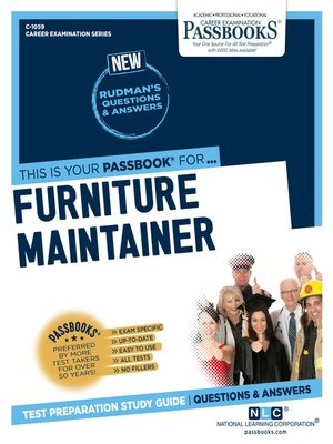 cover image of Furniture Maintainer