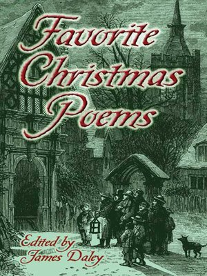 cover image of Favorite Christmas Poems