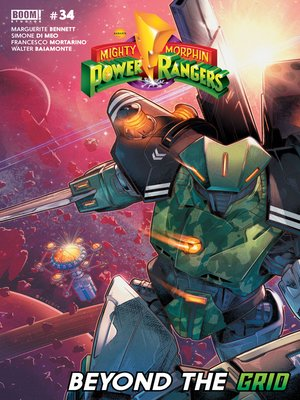 cover image of Mighty Morphin Power Rangers, Issue 34