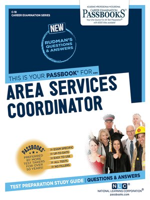 cover image of Area Services Coordinator
