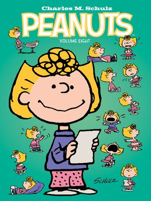 cover image of Peanuts Volume 8
