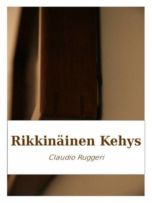 cover image of Rikkinäinen Kehys