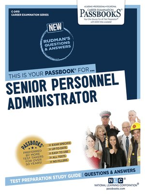 cover image of Senior Personnel Administrator