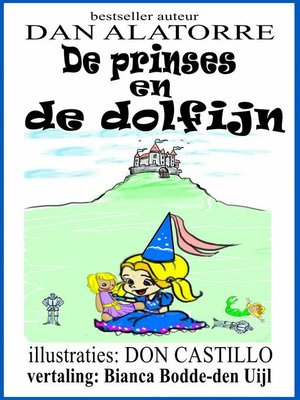 cover image of De prinses en de dolfijn