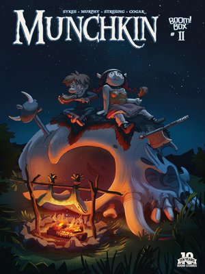 cover image of Munchkin (2015), Issue 11