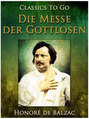 cover image of Die Messe der Gottlosen