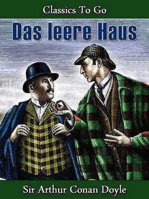 cover image of Das leere Haus
