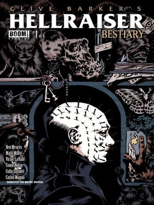 cover image of Clive Barker's Hellraiser: Bestiary (2014), Issue 1