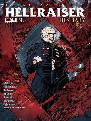 cover image of Clive Barker's Hellraiser: Bestiary (2014), Issue 4