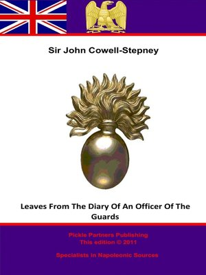 cover image of Leaves from the Diary of an Officer of the Guards