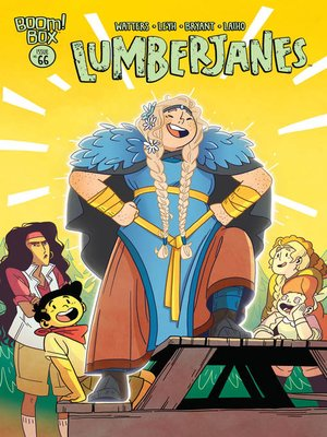 cover image of Lumberjanes (2014), Issue 66