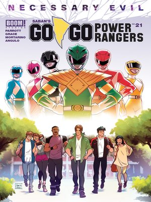 cover image of Saban's Go Go Power Rangers, Issue 21