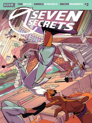cover image of Seven Secrets, Issue 2