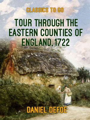 cover image of Tour through the Eastern Counties of England, 1722