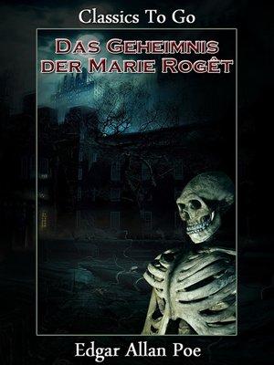cover image of Das Geheimnis der Marie Rogêt