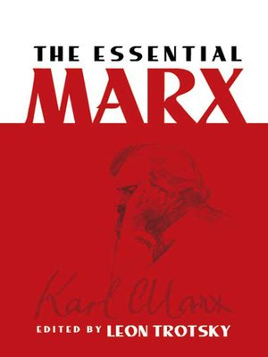 cover image of The Essential Marx