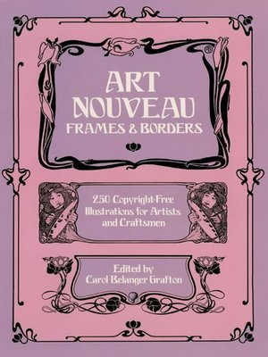cover image of Art Nouveau Frames and Borders