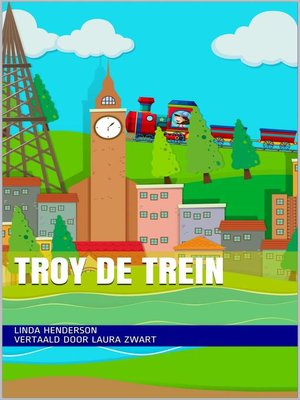 cover image of Troy de trein