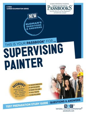 cover image of Supervising Painter