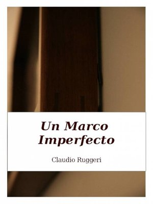 cover image of Un Marco Imperfecto
