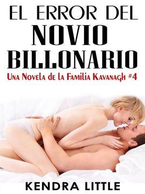 cover image of El Error del Novio Billonario