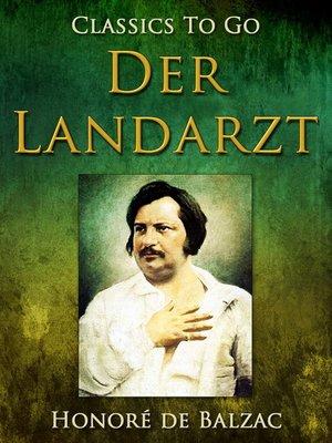 cover image of Der Landarzt