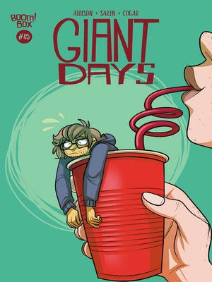 cover image of Giant Days (2015), Issue 45