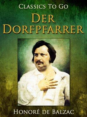 cover image of Der Dorfpfarrer