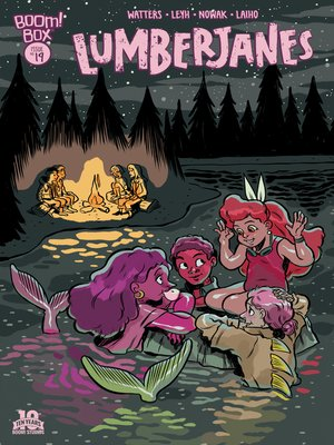 cover image of Lumberjanes #19