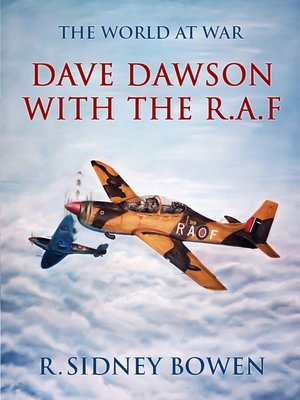 cover image of Dave Dawson with the R.A.F
