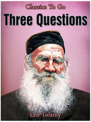 cover image of Three Questions