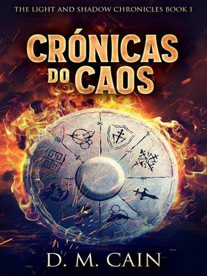 cover image of Crónicas do Caos