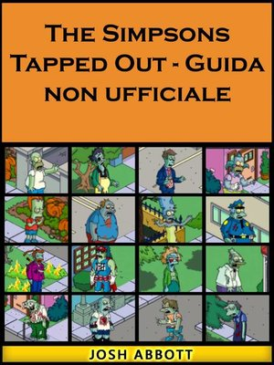 cover image of The Simpsons Tapped Out--Guida non ufficiale