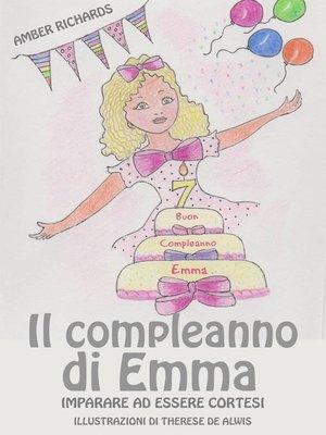 cover image of Il compleanno di Emma