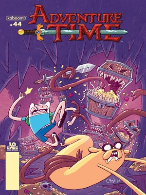 cover image of Adventure Time #44