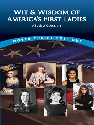 cover image of Wit and Wisdom of America's First Ladies