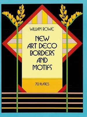 cover image of New Art Deco Borders and Motifs
