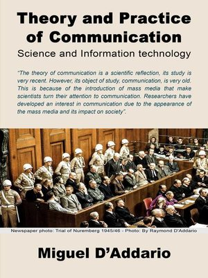 cover image of Theory and Practice of Communication