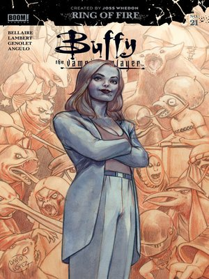 cover image of Buffy the Vampire Slayer (2019), Issue 21