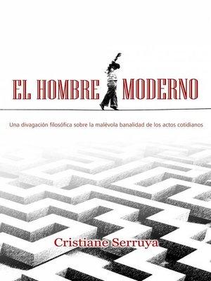 cover image of El hombre moderno