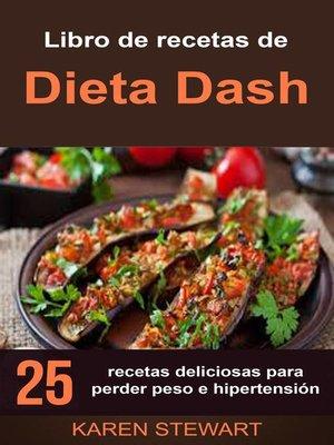 cover image of Libro de recetas de Dieta Dash