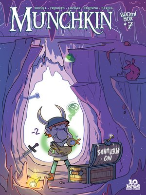 cover image of Munchkin (2015), Issue 7