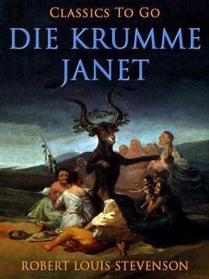 cover image of Die krumme Janet