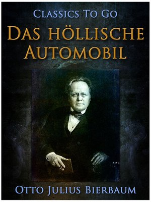 cover image of Das höllische Automobil