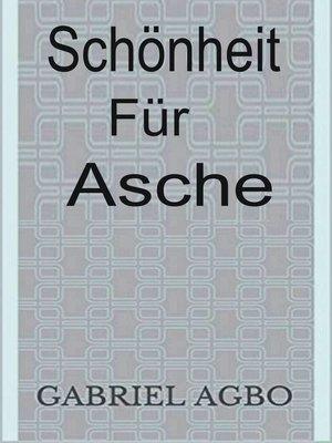 cover image of Schönheit für Asche
