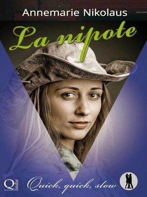 cover image of La nipote
