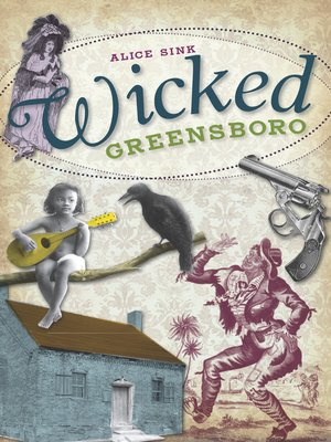 cover image of Wicked Greensboro