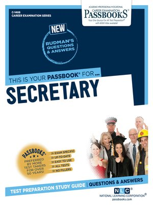 cover image of Secretary
