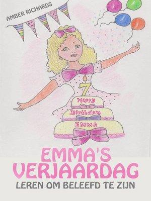cover image of Emma's Verjaardag – Leren om Beleefd te zijn