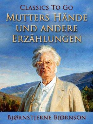 cover image of Mutters Hände und andere Erzählungen